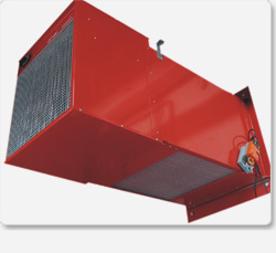 Nagrzewnice elektryczne z komorami mieszania typu ENWM