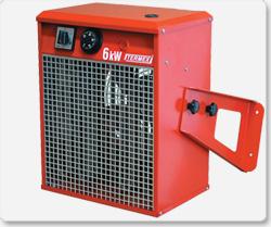 Nagrzewnice elektryczne stacjonarne typu ENWS